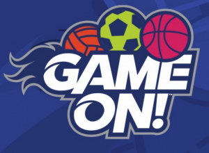 Game On VBS Logo for 2018