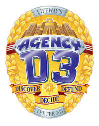 Agency D-3 Police Badge